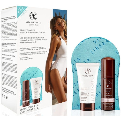 Bronze Basics - Must-Have Luxury 3-Piece Tan Set