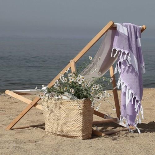 Diamond Weave Pestemal Beach Towel by Linum Home Textiles