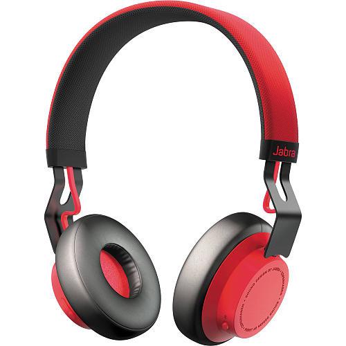 Jabra Move Bluetooth Wireless Headset - Black/Red