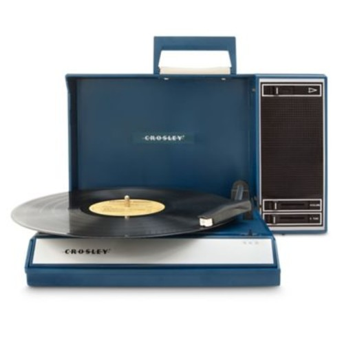 Crosley Portable USB Turntable in Blue