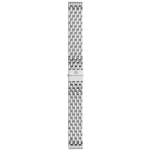 MICHELE 18mm Deco Bracelet Strap, Steel