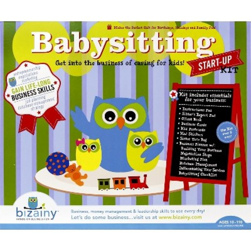 Bizainy Babysitting Activity Kit