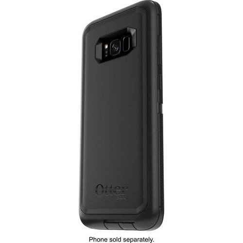 OtterBox - Defender Series Case for Samsung Galaxy S8+ - Black