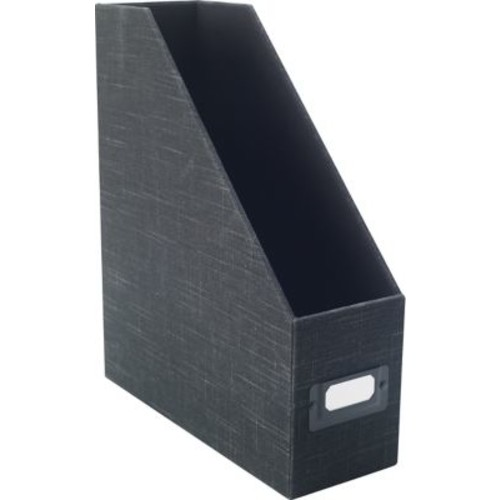 Staples Cloth Magazine File, Charcoal