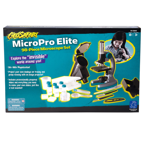 Educational Insights Microproelite 98 Piece Microscope Set