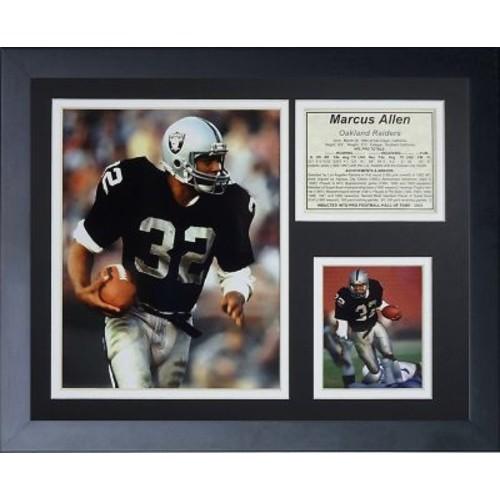 Legends Never Die Marcus Allen Framed Memorabilia