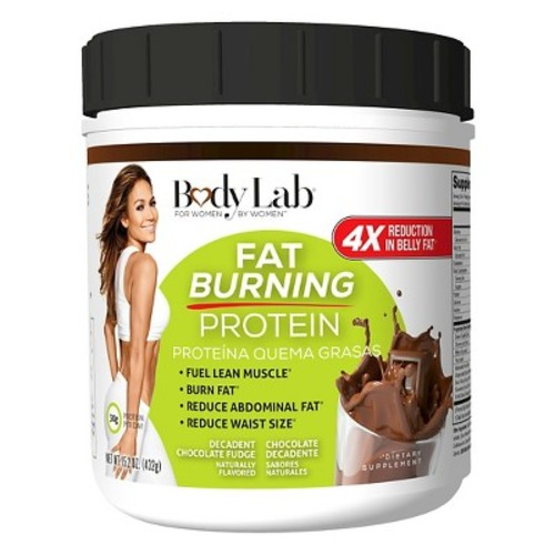 Body Lab for Every Woman Fat Burning Protein Powder - Chocolate - 14.8oz