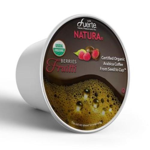 FUERTEFruitti, K-Cup Compatible Pod, Chocolate Berries, USDA Organic Arabica Coffee, 18/PK. (KCC-8169)