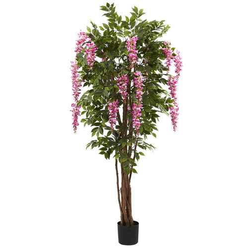Nearly Natural 6.5 Wisteria Silk Tree