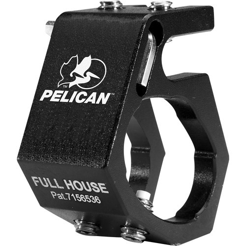 0780 Full House Helmet Light Holder for Pelican Flashlights