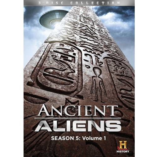 Ancient Aliens: Season Five, Vol. 1 [3 Discs] [DVD]