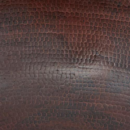 SINKOLOGY Eddington 16 in. Vessel Sink Handmade Pure Solid Copper in Aged Copper