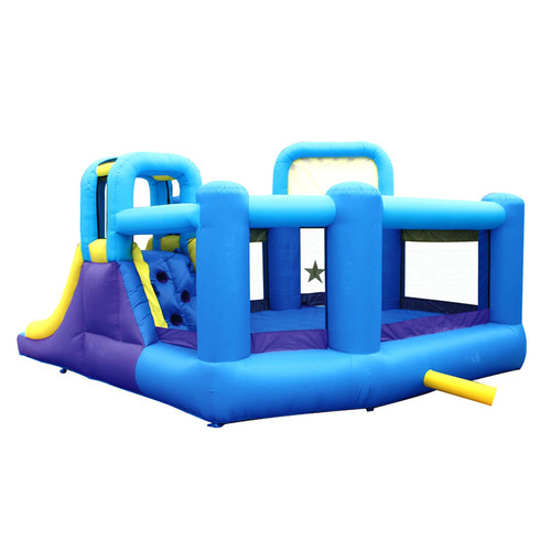 Bounceland Pop Star Inflatable Bounce House Bouncer
