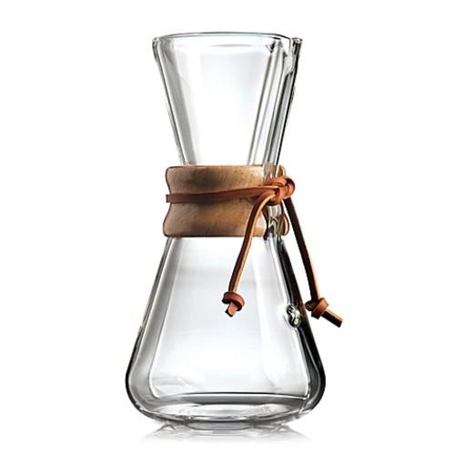 Chemex Handblown 3-Cup Coffee maker