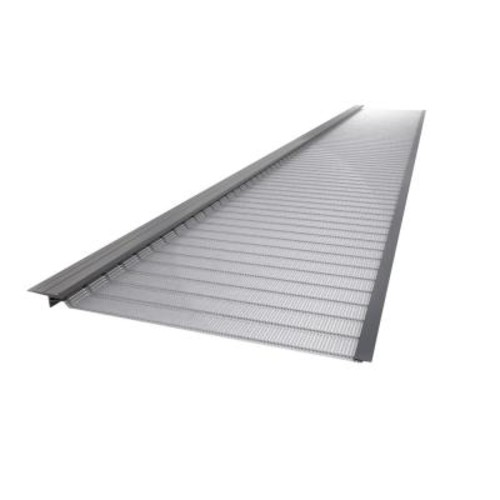Gutter Guard by Gutterglove 4 ft. Stainless Steel 5 in. Micro-Mesh Gutter Guard (10-Pack)