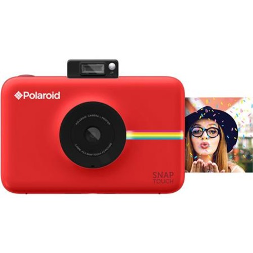 Polaroid Snap Touch Instant Print Digital Camera with LCD Display, Red POSTR