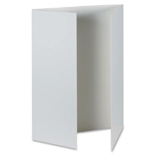 Pacon Corporation Presentation Foam Board, Tri-Fold, 48