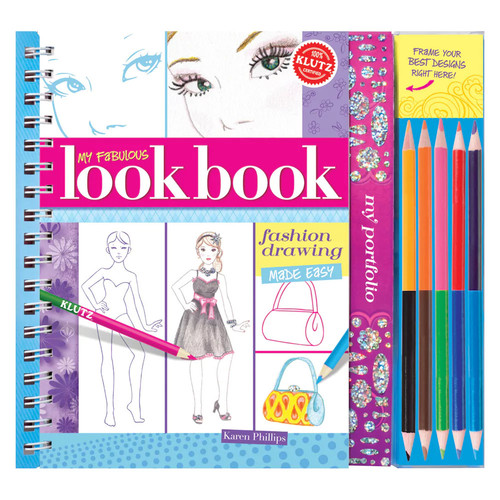 Klutz My Fabulous Look Book: Fashion Drawing Made Easy Book [Multicolor, None]