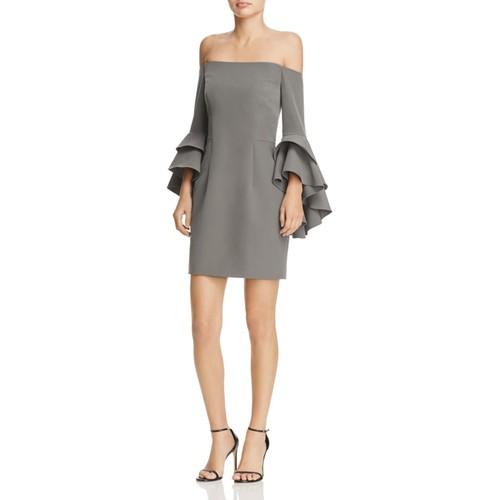 Selena Ruffle Off-the-Shoulder Dress