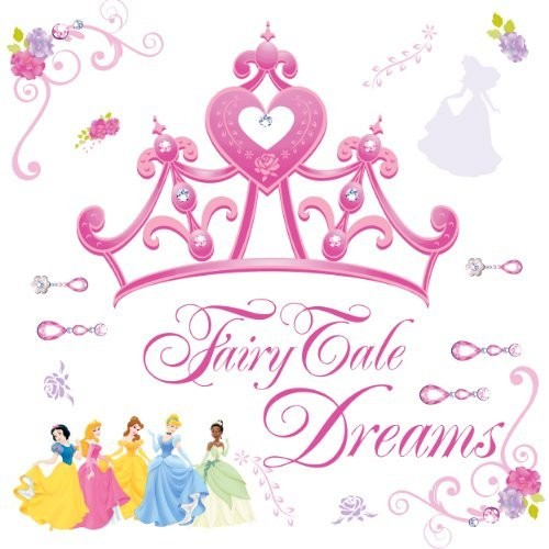 Roommates Rmk1580Gm Disney Princess Crown Peel & Stick Giant Wall Decal: Home Improvement