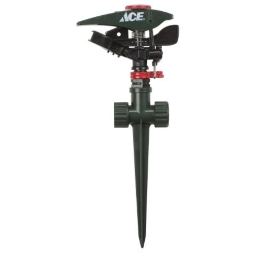 Ace Plastic Spike Impulse Sprinkler 5700 sq. ft.(1609718517)