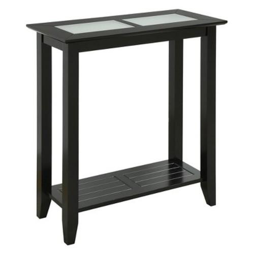 Carmel Hall Table Black - Convenience Concepts