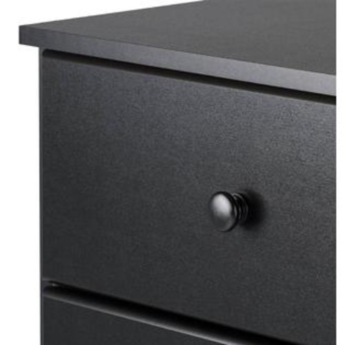 Prepac 4-Drawer Chest in Black