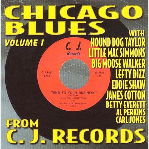 Chicago Blues from C.J. Records, Vol. 1 [CD]