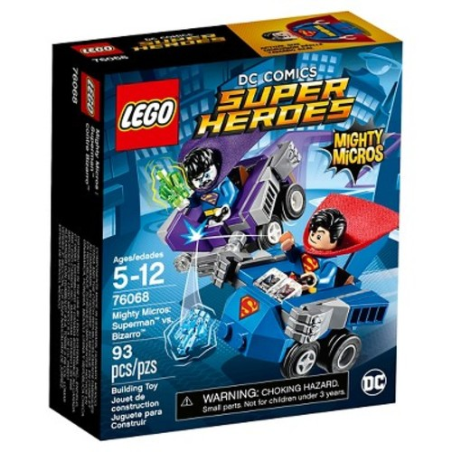 LEGO DC Super Heroes Mighty Micros: Superman vs. Bizarro (76068)