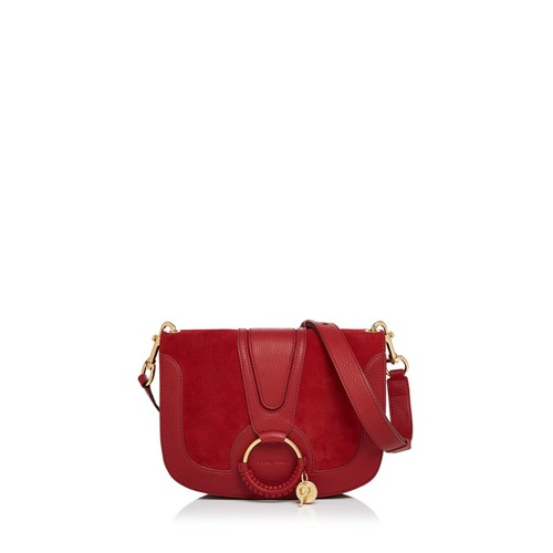 SEE BY CHLOÉ Hana Suede Shoulder Bag