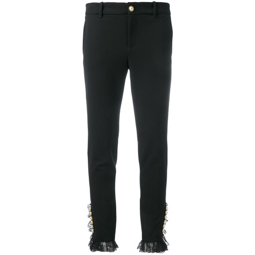 GUCCI Embellished Button Trousers