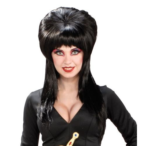 Elvira Black Wig for Halloween Costume