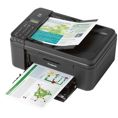 Canon PIXMA Wireless Color Inkjet All-In-One Printer, Copier, Scanner, Fax, MX492