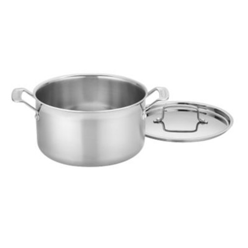 Cuisinart MultiClad Pro 6 qt. Stockpot With Cover, Stainless
