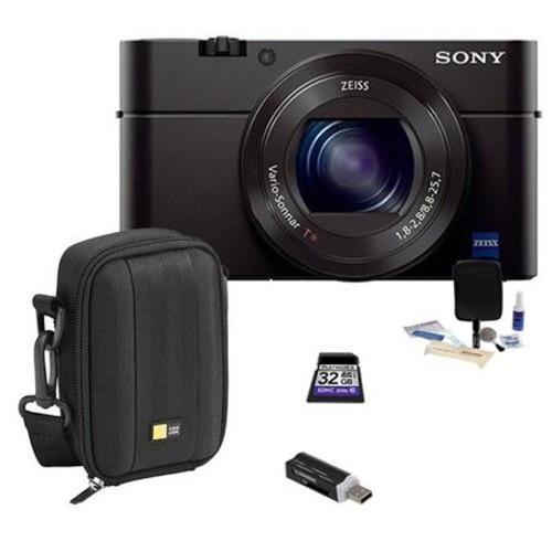 Sony Cyber-Shot DSC-RX100 III Digital Camera and Accessory Kit DSCRX100M3/B A