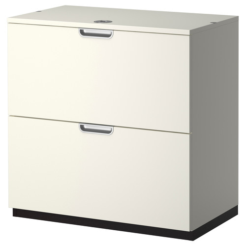 GALANT Drawer unit/drop file storage, white