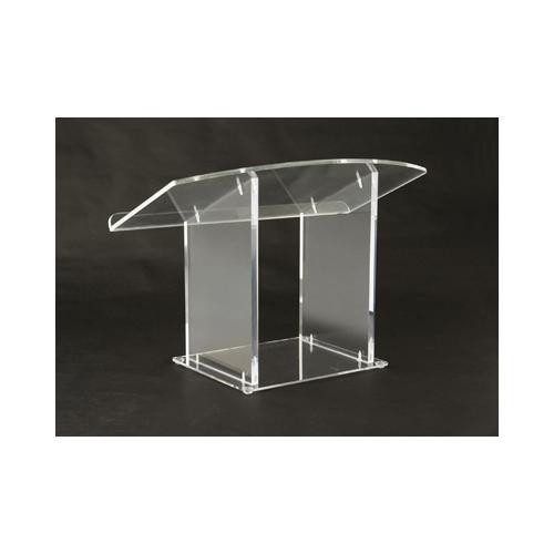 Amplivox Clear Acrylic Tabletop Podium Stand APLSN3085