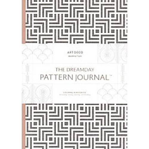 The Dreamday Pattern Journal Art Deco - Manhattan: Coloring-In Notebook for writing, musing, drawing ... (Notebook / blank book)