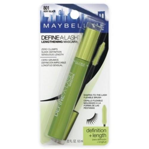 Maybelline Define-A-Lash .22 oz. Lengthening Mascara in Very Black