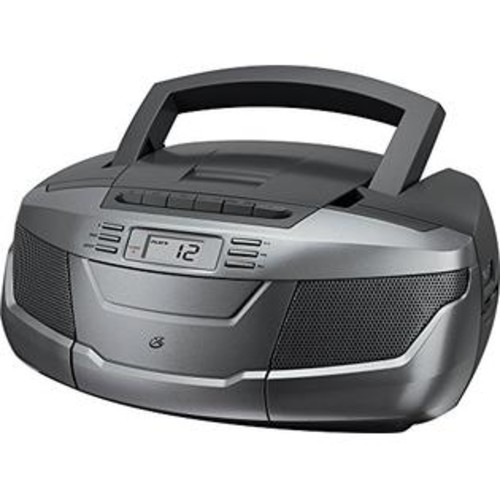 DPI Gpx, Inc. Bca206S Portable Am/Fm Boombox With Cd And Cassette Player