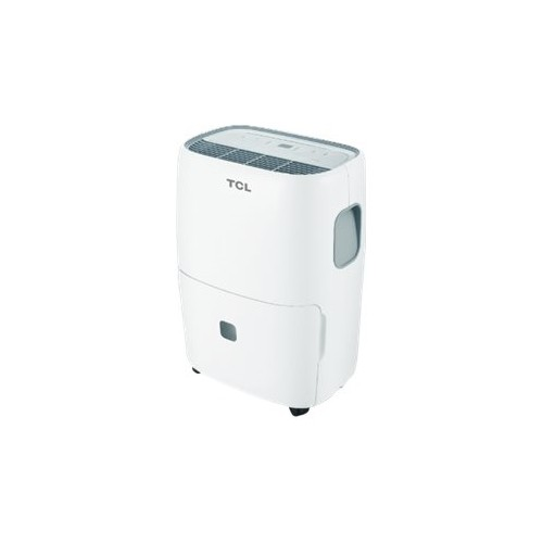 TCL - 45-Pint Portable Dehumidifier - White