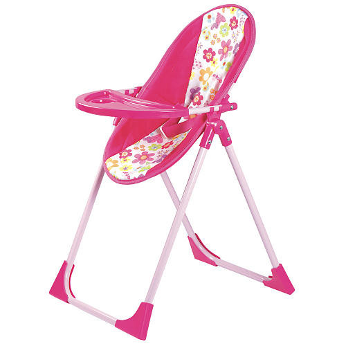 Adora 20 inch 4-in-1 Baby Carrier, Swing and High Chair Playset
