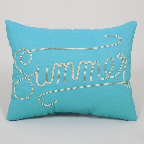 Essentials ''Summer'' Throw Pillow
