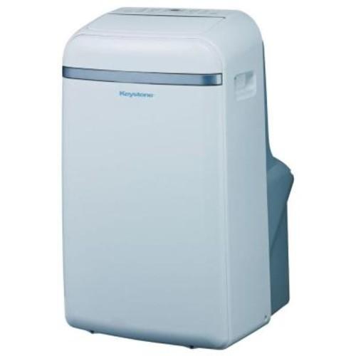 Keystone 14,000 BTU 115-Volt Portable Air Conditioner with Follow Me LCD Remote Control