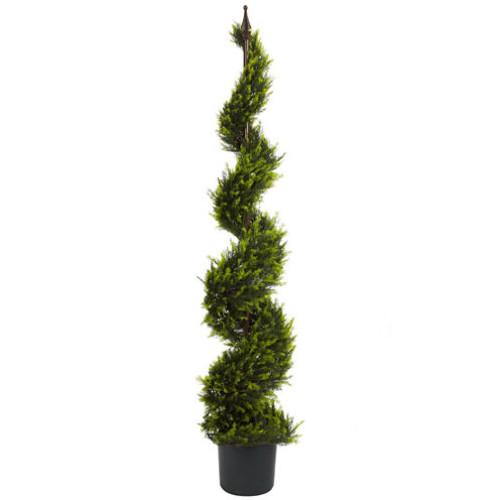 Nearly Natural 5-ft. Cypress Spiral Tree