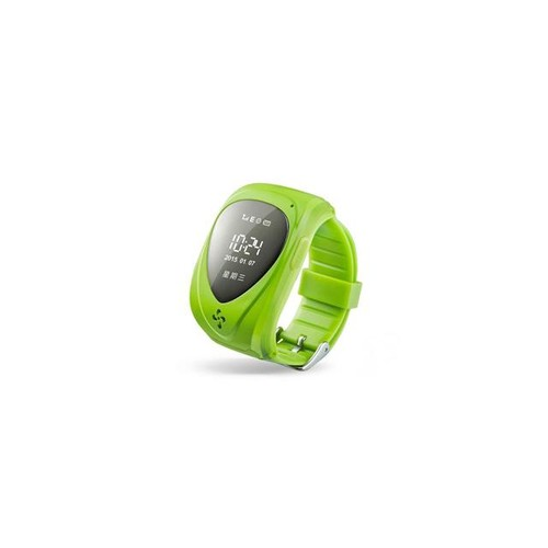 Children's Smart Watch Baby Care Jm09 GSM Gprs SOS Gps+ Base Station Dual Mode Positioning Electric Fence Anti-dropoff Alarm Green Color (Green)