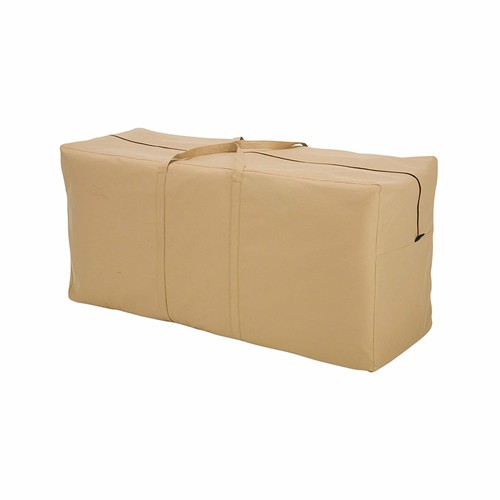 Classic Accessories 58982-EC Terrazzo Patio Seat Cushion/Cover Storage Bag [Frustration-Free Packaging]