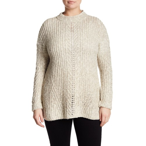 Knit Pullover Sweater (Plus Size)