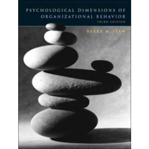 Psychological Dimensions of Organizational Behavior / Edition 3