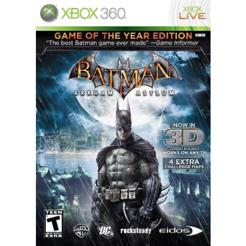 Batman: Arkham Asylum Game of the Year Edition Xbox 360